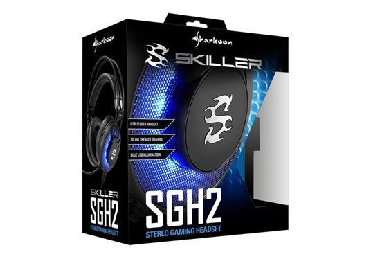 Sharkoon SKILLER SGH2 Cuffia Padiglione auricolare Nero - 3