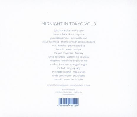 Midnight in Tokyo 3 (Colonna sonora) - CD Audio - 2