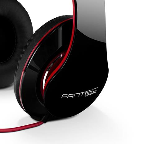 Cuffie Fantec sHP-250aj-bk audio white red - 3