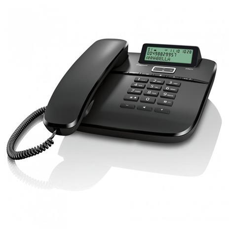 Gigaset DA 611 Telefono analogico Identificatore di chiamata Nero - 4
