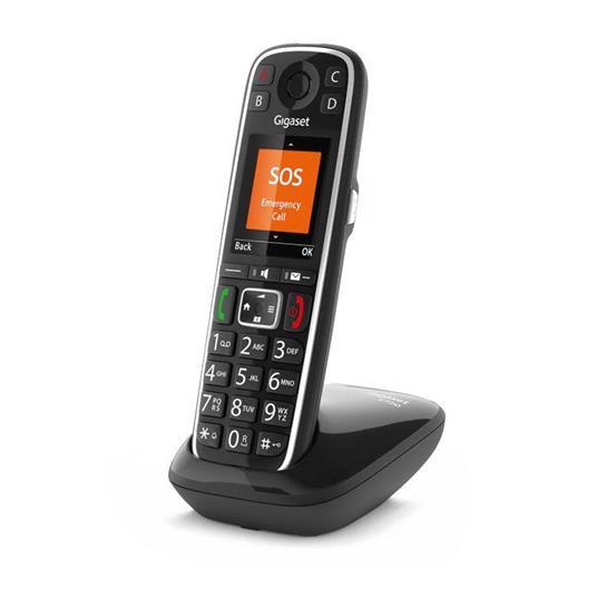 Gigaset E720 Telefono analogico/DECT Nero Identificatore di chiamata - 4