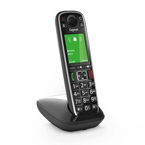 Gigaset E720 Telefono analogico/DECT Nero Identificatore di chiamata - 6