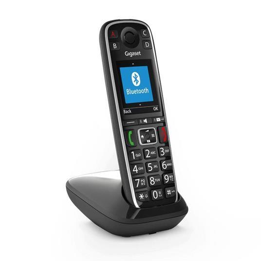 Gigaset E720 Telefono analogico/DECT Nero Identificatore di chiamata - 7