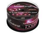 CD-R Mediarange 700mb 50pcs spindel 52x