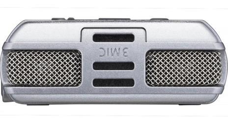 Registratore Olympus DM-720 Memoria interna cheda di memoria Argento dittafono - 5