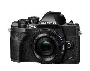 """Olympus OM-D E‑M10 Mark IV + ED 14-42mm F3.5-5.6 EZ MILC 20,3 MP Live MOS 5184 x 3888 Pixel 4/3"""" Nero - 4"""