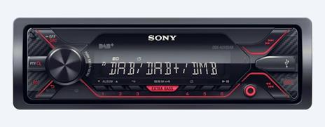 Sony DSX-A310DAB Nero, Rosso 220 W