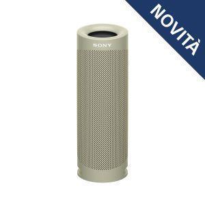 Sony SRS XB23 - Speaker bluetooth waterproof, cassa portatile con autonomia fino a 12 ore (Taupe) - 11