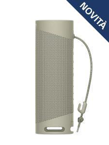Sony SRS XB23 - Speaker bluetooth waterproof, cassa portatile con autonomia fino a 12 ore (Taupe) - 12