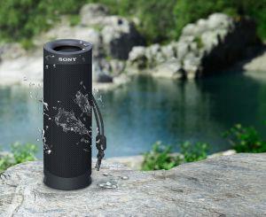 Sony SRS XB23 - Speaker bluetooth waterproof, cassa portatile con autonomia fino a 12 ore (Taupe) - 8