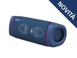 Sony SRS XB33 - Speaker bluetooth waterproof, cassa portatile con autonomia fino a 24 ore e effetti luminosi (Blu) - 2