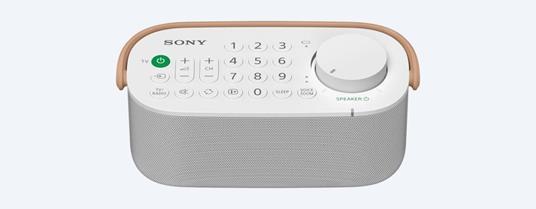Sony SRS-LSR200 altoparlante portatile Bianco