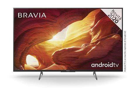 Sony KD-49XH85 | Android TV 49 pollici, Smart TV LED 4K HDR Ultra HD, con Assistenti Vocali integrati (Nero, modello 2020)