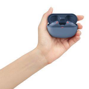 Sony WF SP800 N - Cuffie bluetooth true wireless, in ear, con Noise Cancelling, microfono integrato e batteria fino a 18 ore (Blu) - 6