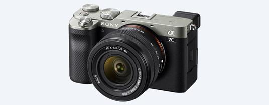 Sony α 7C MILC 24,2 MP CMOS 6000 x 4000 Pixel Nero, Argento