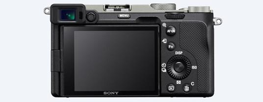 Sony α 7C MILC 24,2 MP CMOS 6000 x 4000 Pixel Nero, Argento - 2