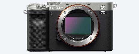 Sony α 7C MILC 24,2 MP CMOS 6000 x 4000 Pixel Nero, Argento - 3