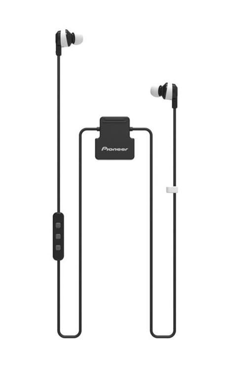 Pioneer ClipWear Active Cuffia Auricolare Nero, Bianco Bluetooth Micro-USB