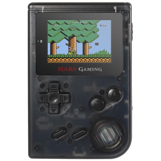 """Mars Gaming MRB console da gioco portatile Nero, Trasparente 5,08 cm (2"""")"""