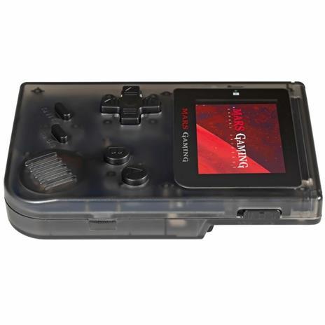 """Mars Gaming MRB console da gioco portatile Nero, Trasparente 5,08 cm (2"""") - 3"""