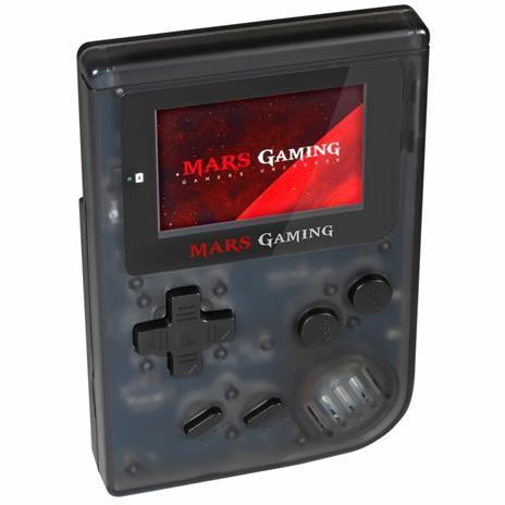 """Mars Gaming MRB console da gioco portatile Nero, Trasparente 5,08 cm (2"""") - 4"""