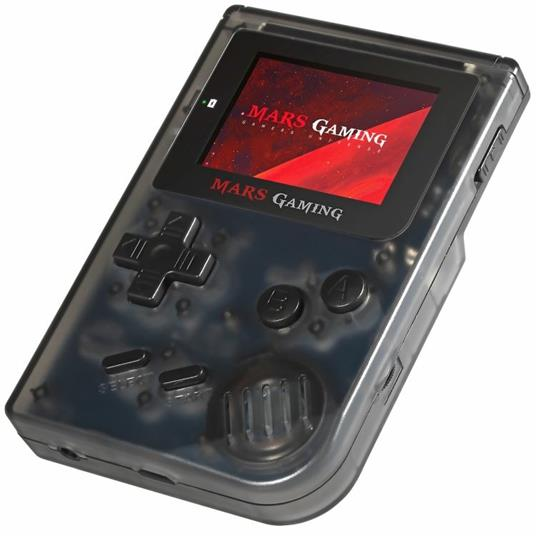 """Mars Gaming MRB console da gioco portatile Nero, Trasparente 5,08 cm (2"""") - 7"""