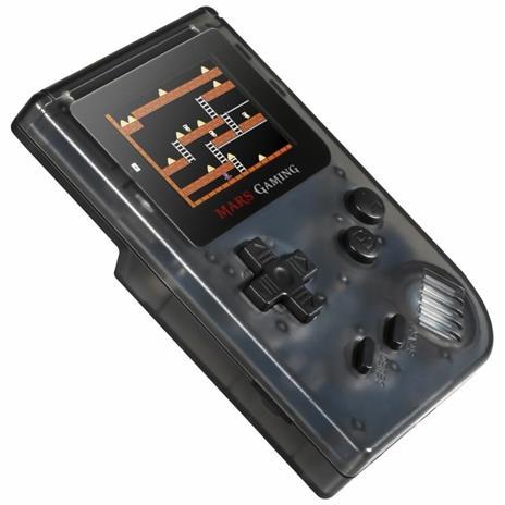 """Mars Gaming MRB console da gioco portatile Nero, Trasparente 5,08 cm (2"""") - 8"""