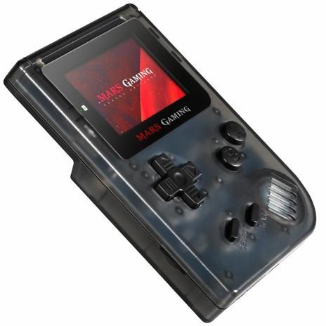 """Mars Gaming MRB console da gioco portatile Nero, Trasparente 5,08 cm (2"""") - 9"""