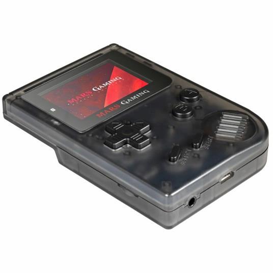 """Mars Gaming MRB console da gioco portatile Nero, Trasparente 5,08 cm (2"""") - 10"""