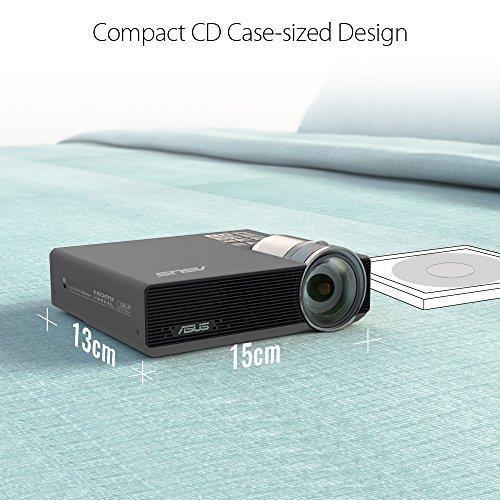 ASUS P3E Proiettore desktop 800ANSI lumen DLP WXGA (1280x800) Argento videoproiettore - 7