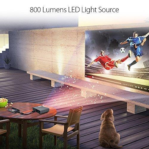 ASUS P3E Proiettore desktop 800ANSI lumen DLP WXGA (1280x800) Argento videoproiettore - 8