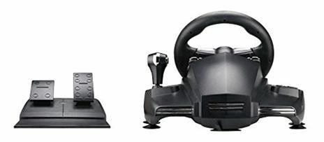 Venom Hurricane Sterzo + Pedali PlayStation 4,PlayStation 3 Nero - 5