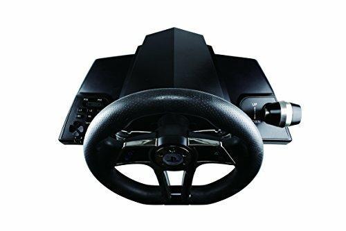 Venom Hurricane Sterzo + Pedali PlayStation 4,PlayStation 3 Nero - 8