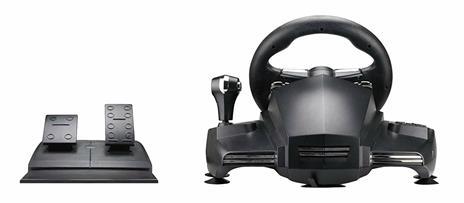 Venom Hurricane Sterzo + Pedali PlayStation 4,PlayStation 3 Nero - 10
