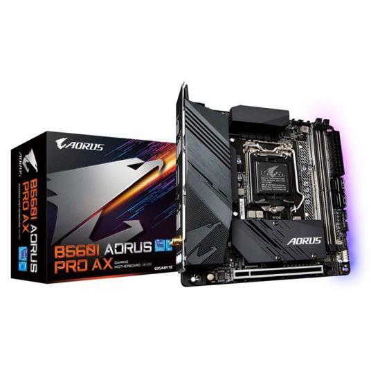 Gigabyte B560I AORUS PRO AX scheda madre Intel B560 Express LGA 1200 mini ITX - 2