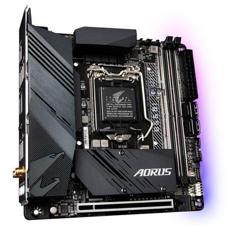 Gigabyte B560I AORUS PRO AX scheda madre Intel B560 Express LGA 1200 mini ITX - 3