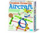 Kit Crea Aerei. Creative Strawkit Aircraft 4M Giochi Educativi