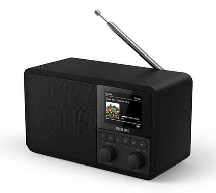 Philips TAPR802/12 radio Internet Digitale Nero