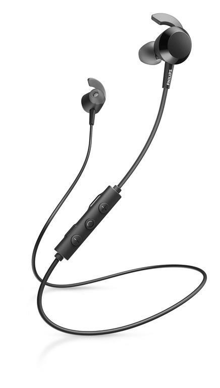 Philips TAE4205BK/00 cuffia e auricolare Nero Bluetooth