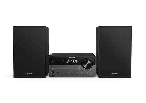 Philips TAM4505/12 set audio da casa Microsistema audio per la casa Nero, Grigio 60 W