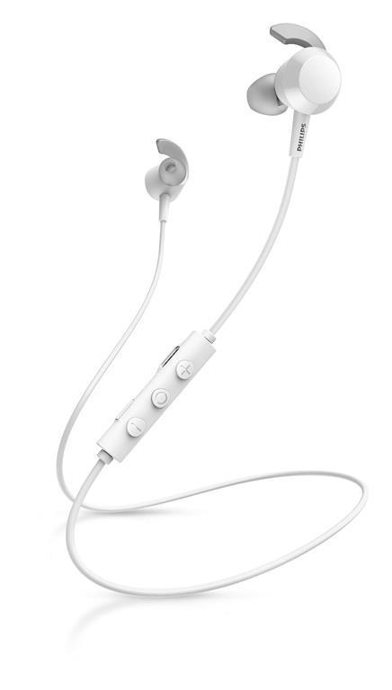Philips TAE4205WT/00 cuffia e auricolare Bianco Bluetooth