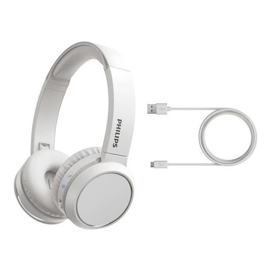 Philips 4000 series TAH4205WT/00 cuffia e auricolare Padiglione auricolare Bianco - 5
