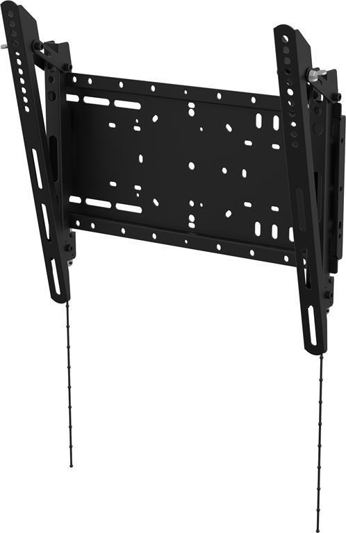 """Vision VFM-W4X4T supporto da parete per tv a schermo piatto 152,4 cm (60"""") Nero"""