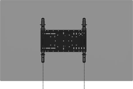 """Vision VFM-W4X4T supporto da parete per tv a schermo piatto 152,4 cm (60"""") Nero - 8"""