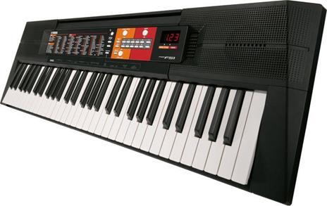 Yamaha PSR-F51 tastiera MIDI 61 chiavi Nero - 4