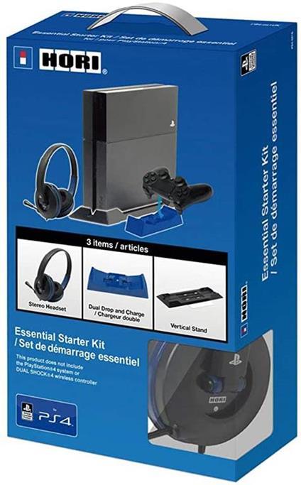 HORI Essential Starter Kit PS4