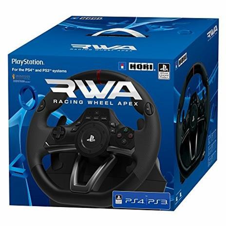 Hori PS4-052E periferica di gioco Sterzo + Pedali PC, PlayStation 4, PlayStation 3 Nero - 7