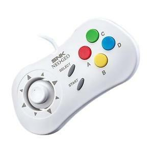 NEO GEO Mini Controller Bianco