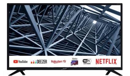 """Sharp 32BC4E TV 81,3 cm (32"""") HD Smart TV Wi-Fi Nero"""