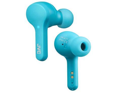 JVC HA-A7T-AN Cuffia Auricolare Blu Bluetooth Micro-USB